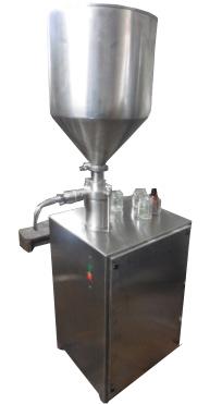 Semi Automatic Paste Filling Machine Semi Automatic Tube